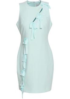 Cinq a Sept Cinq À Sept Woman Vita Bow-embellished Cutout Cady Mini Dress Mint