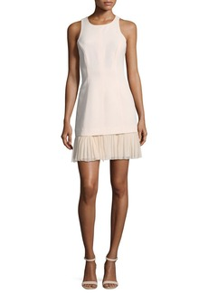 cinq a sept Catriona Sleeveless Pleated-Skirt Dress