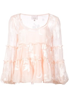 Cinq a Sept floral blouse