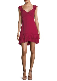 cinq a sept Frankie Sweetheart-Neck Sleeveless A-Line Dress