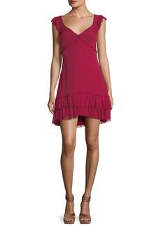 cinq a sept Frankie Sweetheart-Neck Sleeveless A-Line Dress