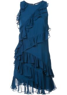 Cinq a Sept frill trim dress