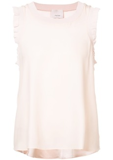 Cinq a Sept frill trim shell top