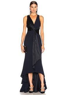Cinq a Sept Iris Gown