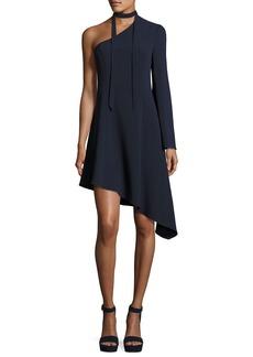 Cinq a Sept Kierra One-Shoulder Asymmetric Dress