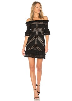 Cinq a Sept Naya Mini Dress in Black. - size 0 (also in 2,4,6)