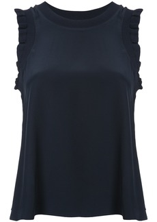 Cinq a Sept ruffle trim top