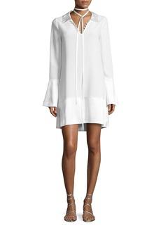 cinq a sept Rya Bell-Sleeve Shift Dress