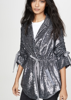 Cinq a Sept Sequin Mathieu Jacket