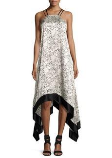 cinq a sept Somiya Sleeveless Handkerchief-Hem Dress