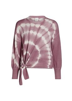 Cinq a Sept Clerisa Tie-Dye Merino Wool & Cashmere Sweater
