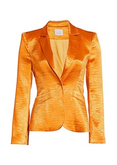 Cinq a Sept Colleen Satin Blazer