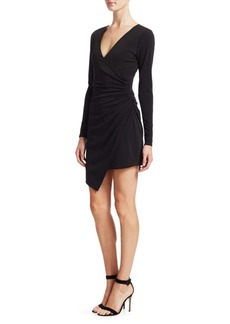 Cinq a Sept Coralie Wrap Dress