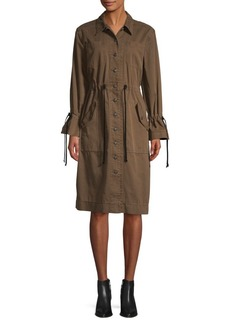 Cinq a Sept Cotton Trench Coat