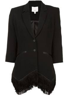 Cinq a Sept cropped sleeve blazer