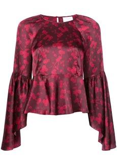 Cinq a Sept Crypress Vine Avalon blouse