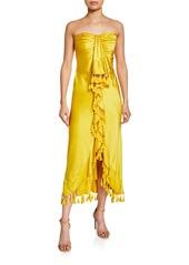 Cinq a Sept elise sleeveless mini dress with ruffle detail