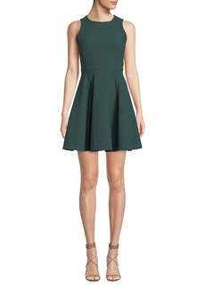 Cinq a Sept Elizabeth Sleeveless Flounce Mini Dress