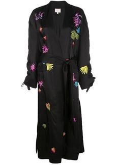 Cinq a Sept embroidered Aziza kimono