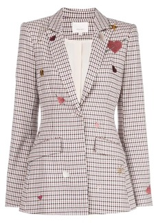 Cinq a Sept Estelle check blazer