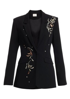 Cinq a Sept Estelle Embroidered Blazer