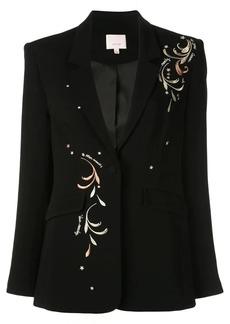 Cinq a Sept Estelle embroidered blazer