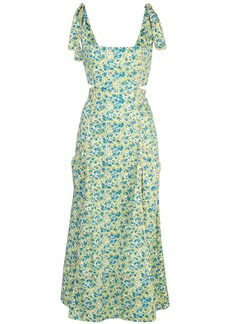Cinq a Sept floral print Perla dress