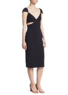 Cinq a Sept Greta Cutout Midi Dress