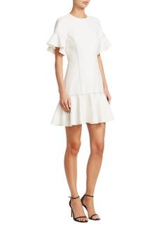 Cinq a Sept Heather Contrast-Stitch Dress