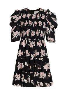 Cinq a Sept Hollis Floral Mini Dress