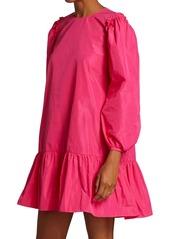 Cinq a Sept Jackie Puff-Sleeve Mini Dress