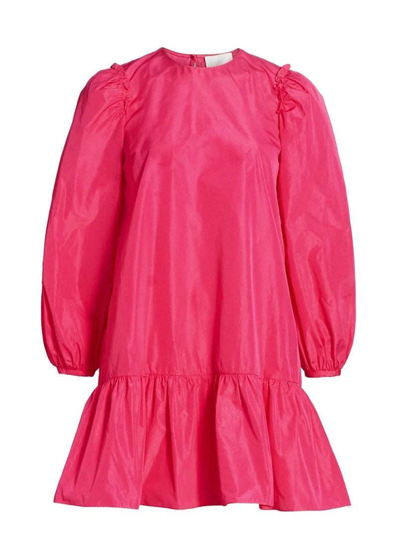 Jackie Puff-Sleeve Mini Dress