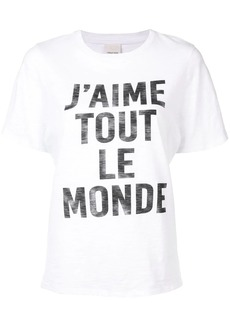 Cinq a Sept 'J'aime Tout Le Monde' T-shirt