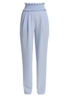 Cinq a Sept Jessi Smock-Waist Pants