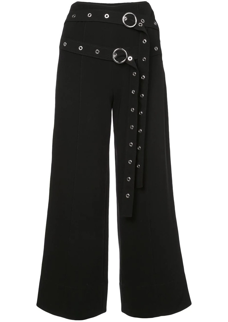Cinq a Sept Jessi buckled trousers
