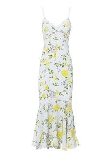 Cinq a Sept Jolene Gardenia Midi Dress