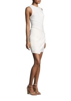 Cinq a Sept Josie Asymmetric Mini Dress