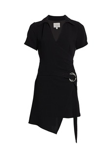 Cinq a Sept Lee Faux Wrap Dress