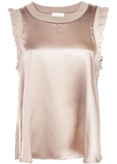 Cinq a Sept Lenore satin top