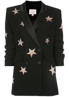 Cinq a Sept Lila star print blazer