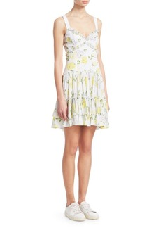 Cinq a Sept Livia Floral Sundress