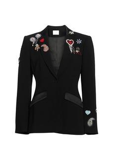 Cinq a Sept Love Cheyenne Embroidered Blazer