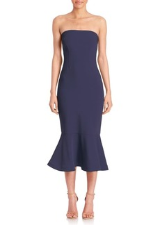 Cinq a Sept Luna Strapless Dress