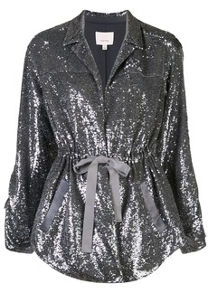 Cinq a Sept Mathieu sequinned jacket