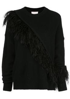 Cinq a Sept Merritt fringed detail sweater