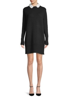Cinq a Sept Peter Pan Collar Sweater Dress