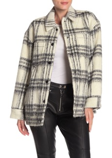 Cinq a Sept Plaid Julia Jacket