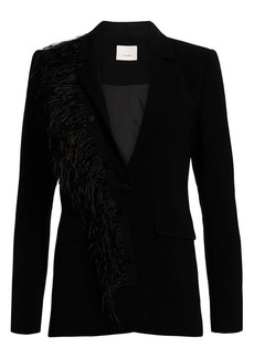 Cinq a Sept Portia Feather Blazer