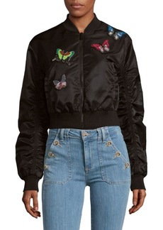 Cinq a Sept Prince Bomber Jacket