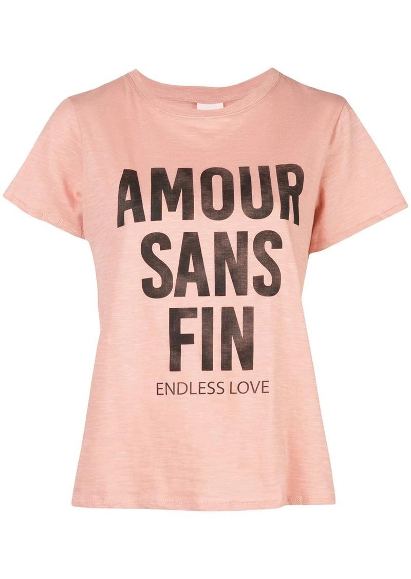 Cinq a Sept printed Endless Love T-shirt